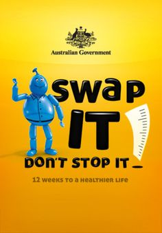 NUTRITION AND EXERCISE: Swap It Don't Stop It By J. Walter Thompson (Australia) The Swap It app offers: The ability to track your progress and earn badges as you reach milestones as a swapper. Dont Stop, Stop It, Sports Nutrition, Fitness Nutrition, Healthy Food Alternatives, Healthier You, Physical Activities, Itunes, Healthy Life