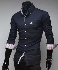 Men's Button Shirt with Pocket Details | Oh killer, Casual wear ...