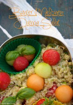 Bunter Melonen-Quinoa Salat