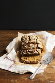 heirloom pumpkin bread w/ seeds, zest + chocolate chips too! - dolly and oatmeal