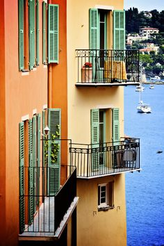 Côte d' Azur - Monaco - Mediterranean color in the village of Villefranche sur Mer. The French Riviera. Provence, French Balcony, Juan Les Pins, Villefranche Sur Mer, South Of France, Nice France, French Countryside, Ansel Adams, French Riviera