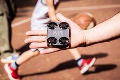 Pocket Sized Selfie Drone #GiftIdeas #UnusualGifts #UniqueGifts #BestGiftIdeas #CoolGiftIdeas #ThingsIDesire