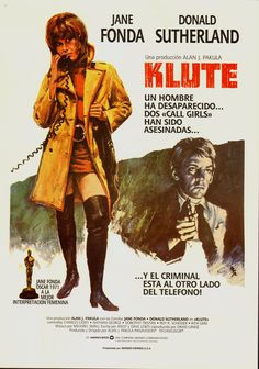 Klute (1971), directed by Alan J. Pakula. Costumes by Ann Roth.