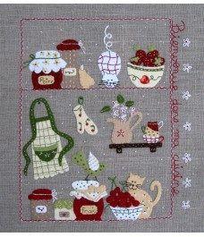 Cornish cream tea Cornwall verano recuerdo Toalla De Cocina