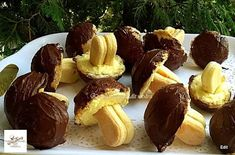 Érdekel a receptje? Kattints a képre! Waffles, Cheesecake, Stuffed Mushrooms, Deserts, Muffin, Food And Drink, Cooking Recipes, Pudding, Sweets