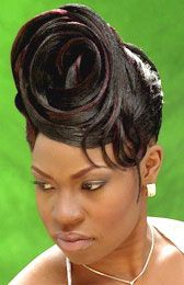 Updo Hairstyle from Debra Woods Black Hair History, French Twists, Updo Hairstyle, 60th Birthday, Black Beauty, Updos, My Hair, Sassy, Wedding Hairstyles
