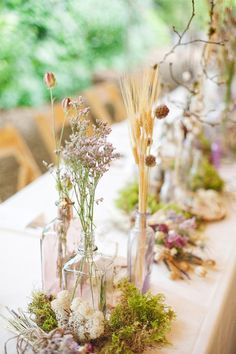 wildflower wedding centerpiece - Google Search