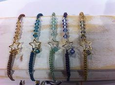 Pulsera Estrella de Joyas De Bisuteria Artesanal Con Alma por DaWanda.com