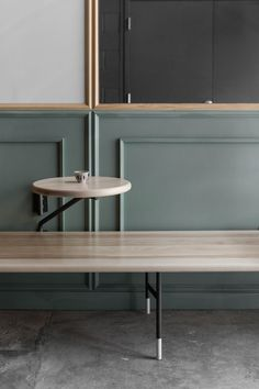 Image 2 of 25 from gallery of Jouney Café / David Dworkind. Photograph by David Dworkind Contemporary Interior Design, Best Interior Design, Interior Design Inspiration, Bar Furniture, Furniture Design, Cafe Seating, Cafe Design, Design Design, Design Trends