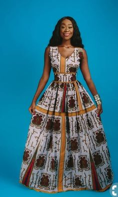 This outfit is an African feminine dress. It's just a hand crafted Afro-chic dashiki. It exists in different sizes that you select in the size chart when ordering.