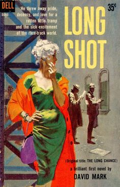 Pulp International - Cover for Long Shot painted by Mitchell Hooks