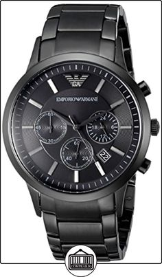 Brand NEW Mens Emporio Armani Black Dial Chronograph 399 Gents Watches, Cool Watches, Watches For Men, Daniel Wellington, Emporio Armani Mens Watches, Tommy Hilfiger, Herren Chronograph, Casio Classic, Armani Black