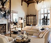 White Eclectic Living Room | Living Rooms | LUXE Source