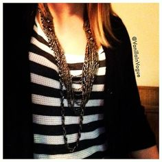 Beads & Chains @VanillaInVogue #fashion