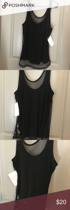 Fabletics Madison Mesh Tank XXL Brand New with Tags Madison Tank. Mesh. Front is lined, back is all mesh to show sports bra. Size XXL Fabletics Tops Tank Tops