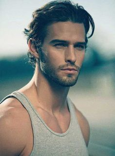 Mid Length Hairstyle for Men