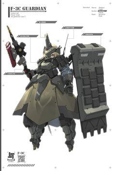 由 太田幼女(3) (@ota_yojo) | Twitter 提供的媒体推文 Cyberpunk Character, Cyberpunk Art, Sci Fi Armor, Arm Armor, Character Concept, Character Art, Concept Art, Cyborg Girl, Frame Arms Girl