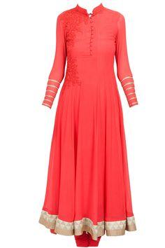Bright pink embroidered kurta set by RIDHI MEHRA at perniaspopupshop.com #perniaspopupshop #clothes #womensfashion #love #indiandesigner #RIDHIMEHRA #happyshopping #sexy #chic #fabulous #PerniasPopUpShop #ethnic #indian