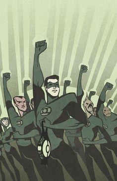 Green Lantern PropagandaPoster by ThreeEyesWorm on deviantART
