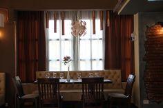 Masa Interior Riviere Curtains, Interior, Home Decor, Restaurant, Brewery, Blinds, Decoration Home, Indoor, Room Decor