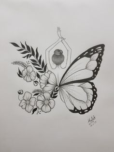 : minus man really love this butterfly tattoo human love ., : minus man really love this butterfly tattoo human love . Diana Herzog Mensch : minus man really love this butterfly tattoo human love . Pencil Sketch Drawing, Pencil Art Drawings, Sketch Art, Drawing Base, Sketch Painting, Pencil Drawings Of Flowers, Sketches Of Flowers, Creative Pencil Drawings, Best Drawing