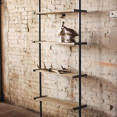Pipe Dream Shelving Unit from Dot and Bo.