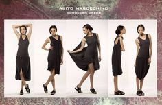 Convertible knitting dress ss 2015 Lemuria