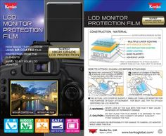 Kenko LCD Screen Protection Film for Panasonic LX5 & Leica D-LUX 5 - http://www.fivedollarmarket.com/kenko-lcd-screen-protection-film-for-panasonic-lx5-leica-d-lux-5/