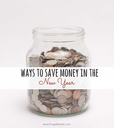 5 Ways To Help Save You Money in the New Year