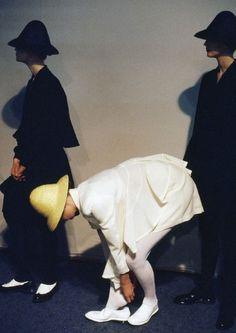 COMME DES GARCONS | BACKSTAGE | 1987