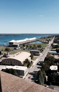 The views from the top of the Tower of History are priceless! Come to Sault Ste. Marie, MI this summer to check them out yourself.