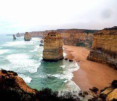 The Twelve Apostles Great Ocean Road Victoria Australia  #twelveapostles #greatoceanroad #victoria #australia #beautiful #skyscape #sky #clouds #ocean #sea #seascape #waves #beach #visitaustralia #rocks #landscape #cliffs by images_speak