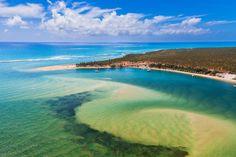 Praia do Gunga - Maceió, Alagoas (by Wesley Menegari)