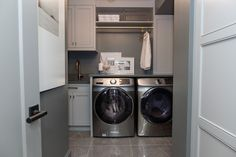 """The """"Property Brothers"""" stars say the one room that homeowners often don't think to renovate is the laundry room—but it can be a big deal to buyers. Property Brothers, Stacked Washer Dryer, Renting A House, Laundry Room, Home Improvement, Home Appliances, Modern, Mudroom, Lisa"""