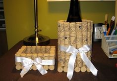 Most Creative Recycled Crafts To Make - Rustic Crafts & Chic Decor Wine Craft, Wine Cork Crafts, Wine Bottle Crafts, Cute Crafts, Creative Crafts, Crafts To Make, Diy Cork, Wine Cork Projects, Wine Cork Art