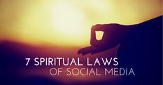 Want to grow your brand by adding purpose, potential, and giving? Master these seven spiritual laws of social media, inspired by the timeless wisdom of Deepak Chopra.