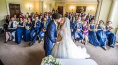 We love this photograph taken by GRW Photography of a recent wedding at Holne Park House.