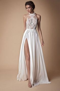 Muse by Berta 2018 Wedding Dress Collection The second Muse collection from Berta bridal is sexy yet Top Wedding Dresses, Luxury Wedding Dress, Gorgeous Wedding Dress, Bridal Dresses, Wedding Gowns, Prom Dresses, Skinny Wedding Dress, Silver Bridesmaid Dresses, Wedding Reception