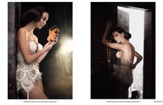 Lingerie Haute Couture by Jolidon Photographed by Calin Andreescu for Trend Prive Magazine Backless, Lingerie, Magazine, Formal Dresses, Life, Fashion, Haute Couture, Dresses For Formal, Moda