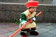 9 Super Cute Kids in Dragon Ball Z Cosplay: Super Cute Boy Cosplaying as Gohan from Dragon Ball Z