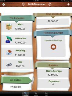 budget tracker app ios