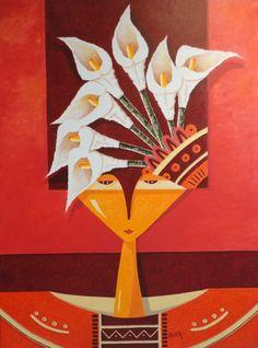 INGENUIDAD II Jesus Zazueta 2014 Categoria: Pintura Técnica: Acrílica  Soporte: Tela  Tamaño: Figura25 (81x65) 60 x 80 x 4.5  Estilo: Figurativo