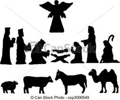 Vector - Silhouette Star of Bethlehem. Nativity - stock illustration, royalty free illustrations, stock clip art icon, stock clipart icons, logo, line art, EPS picture, pictures, graphic, graphics, drawing, drawings, vector image, artwork, EPS vector art