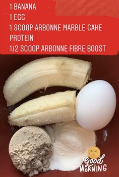 Clean Protein Mug Cake Mix together, put in mug and microwave for 2 minutes. Let cool, and enjoy! *add dark carob chips for a treat! Arbonne Shake Recipes, Protein Shake Recipes, Protein Foods, Protein Shakes, Arbonne Nutrition, Arbonne Protein, Protein Mug Cakes, Clean And Delicious, Carob Chips