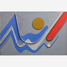 1988 - Domela, César - Relief #299 - 66x101cm