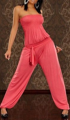 WOMAN JUMPSUIT JENIFER CORAL