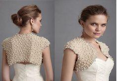 Rosa acessórios em tricô & crochê: Bolero de tricô