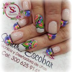 31 Mejores Imágenes De Uñas Mandala Mandalas Finger Nails Y Art