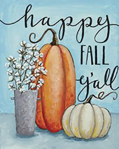 Social Artworking Leinwand Gemälde Design – Happy Fall - New Sites Pumpkin Canvas Painting, Canvas Painting Designs, Autumn Painting, Autumn Art, Fall Paintings, Halloween Canvas Paintings, Indian Paintings, One Stroke Painting, Diy Painting
