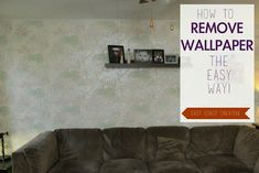 East Coast Creative: How to Remove Wallpaper the Easy Way! Deep Cleaning Tips, Cleaning Hacks, Clean Baking Pans, All Purpose Cleaners, Clean Freak, Old Paper, East Coast, Fun Projects, Clean House